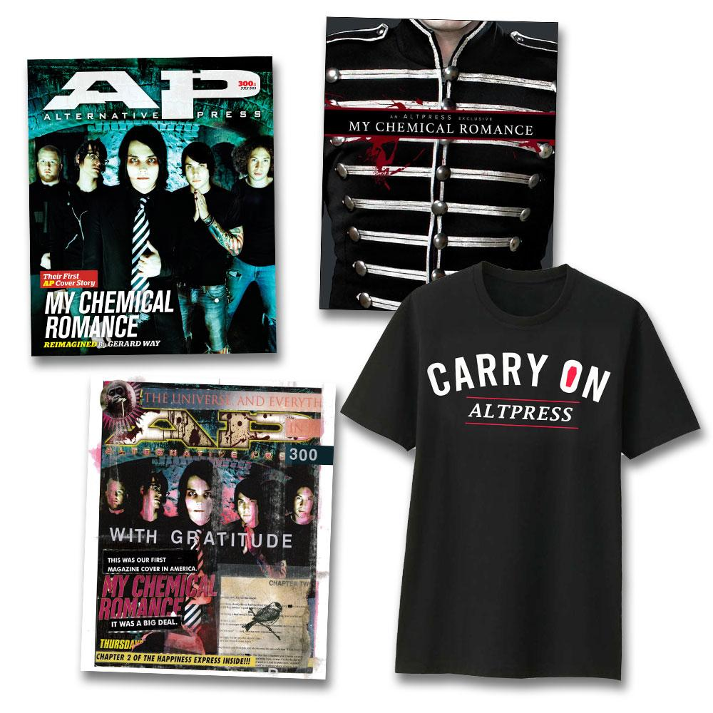 My Chemical Romance - Alternative Press Magazine Issue 300 Tee Collection