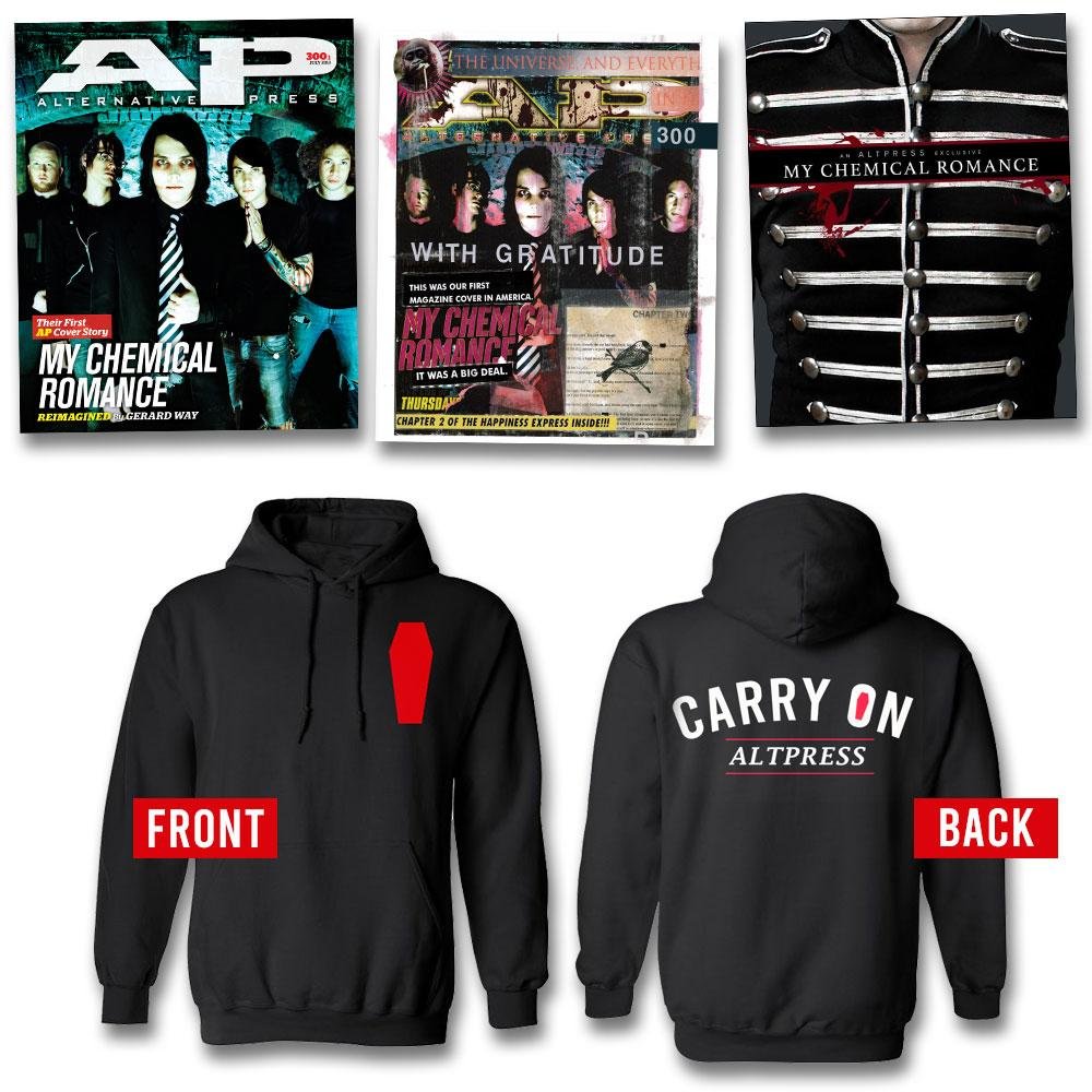 My Chemical Romance - Alternative Press Magazine Issue 300 Hoodie Collection