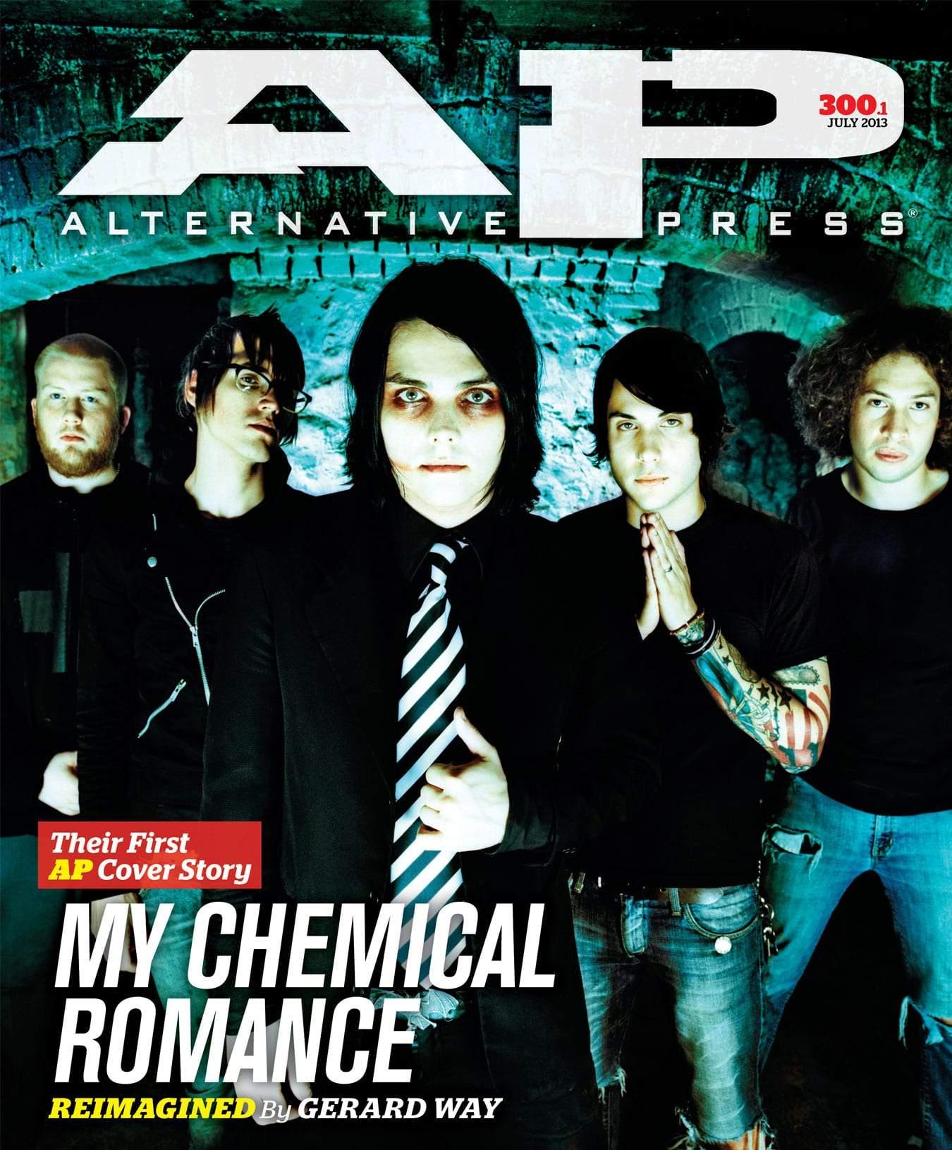 My Chemical Romance - Alternative Press Magazine Issue 300 Version 1