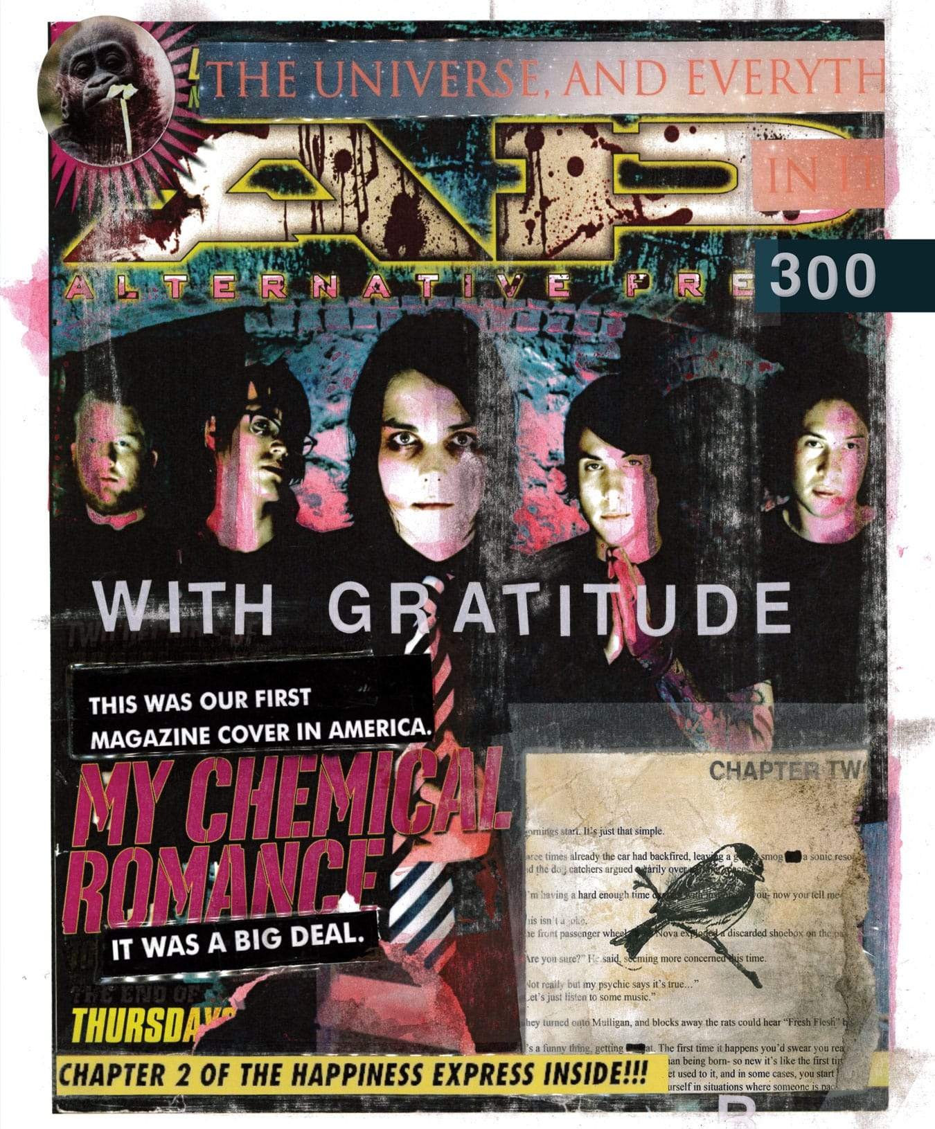 My Chemical Romance - Alternative Press Magazine Issue 300 Version 2
