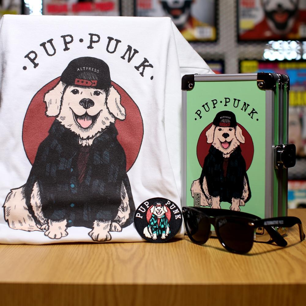 Alternative Press Apparel Bundle XS Pup Punk Good Boy Collection - AP Summer Box Series