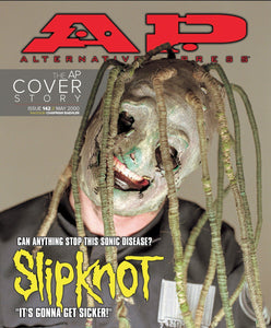Slipknot on Alternative Press Magazine Issue 142 AltPress Cover Story Reprint