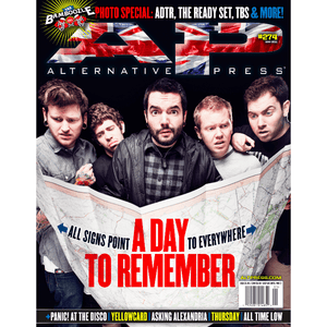 A Day to Remember on Alternative Press Magazine Issue 274