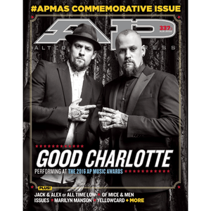 Good Charlotte on Alternative Press Magazine Issue 337 Version 3