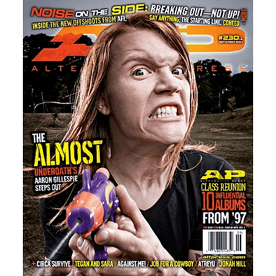 altpress alternative press magazine The Almost AFI blaqk audio underoath tool cohered and cambria mxpx senses fail say anything the locust anthony green