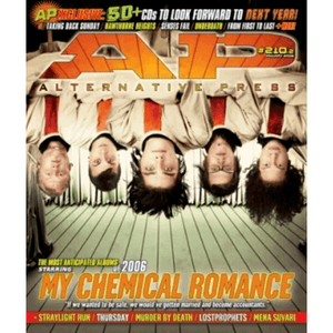 My Chemical Romance on Alternative Press Magazine Issue 210 Version 2