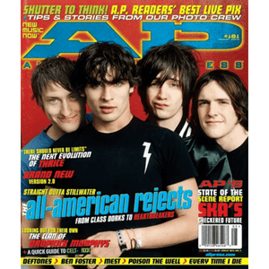 The All-American Rejects on Alternative Press Magazine Issue 181