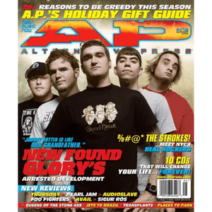 New Found Glory on Alternative Press Magazine Issue 173