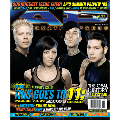 altpress alternative press magazine warped tour 2005 millencolin fall out boy the starting line finch