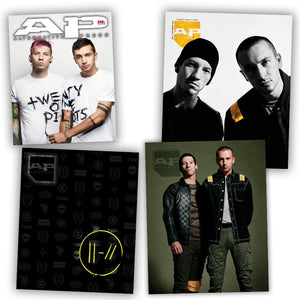Twenty One Pilots on Alternative Press Magazine Decade Collection