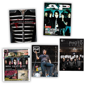 My Chemical Romance on Alternative Press Magazine Ultimate Collection