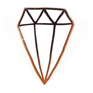 Valley Cruise Press - Diamond Pin by Kate Bingaman-Burt Accessories Valley Cruise Press