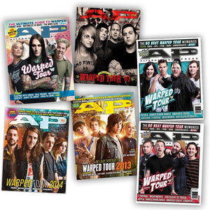 Warped Tour 'Get Warped' Collection Cover Bundle Alternative Press