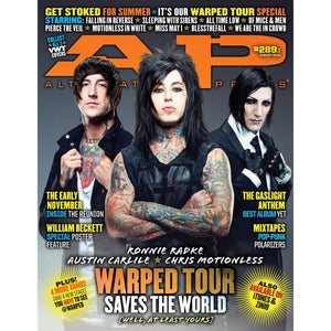 [289.1] Warped Tour 2012 Magazines Alternative Press