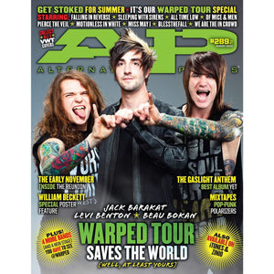 Warped Tour 2012 on Alternative Press Magazine Issue 289 Version 2