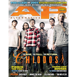 Chiodos on Alternative Press Magazine Issue 290 Version 1