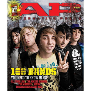 100 Bands You Need To Know 2008 on Alternative Press Magazine Issue 237 Version 5