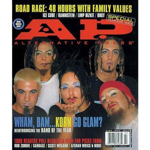 Korn on Alternative Press Magazine Issue 127