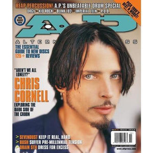 Chris Cornell on Alternative Press Magazine Issue 136