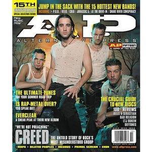Creed on Alternative Press Magazine Issue 144