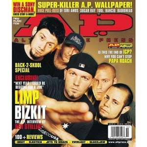 Limp Bizkit on Alternative Press Magazine 146