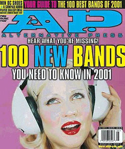 [152.1] 100 New Bands You Need To Know in 2001 Magazines Alternative Press