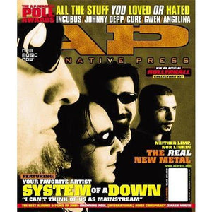 System Of A Down on Alternative Press Magazine Issue 163
