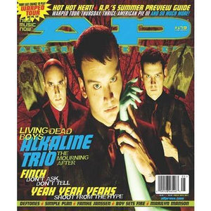 Alkaline Trio on Alternative Press Magazine Issue 179