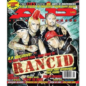 Rancid on Alternative Press Magazine Issue 180