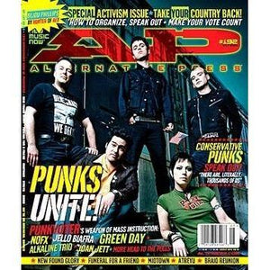 Punks Unite on Alternative Press Magazine Issue 192