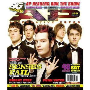 Senses Fail on Alternative Press Magazine Issue 199