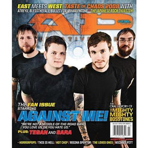 Against Me! on Alternative Press Magazine Issue 236 Version 1