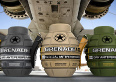 Coley announces sponsorship deal with Grenade!