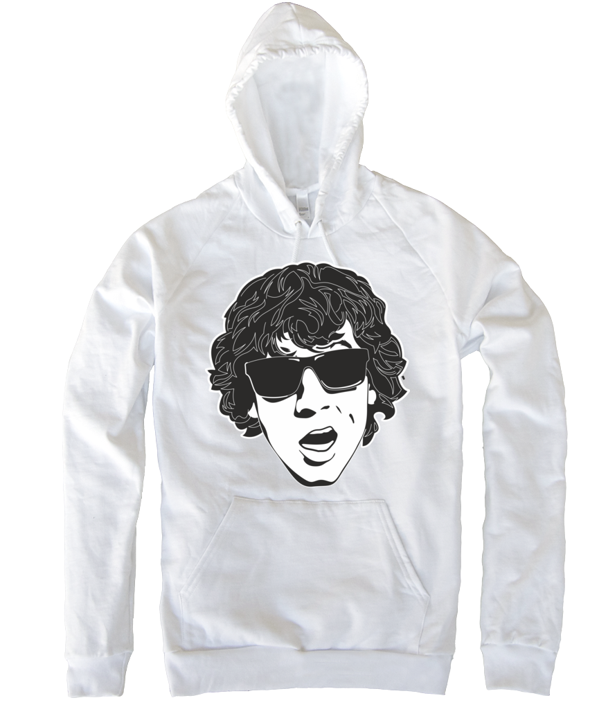Coley White Hoody