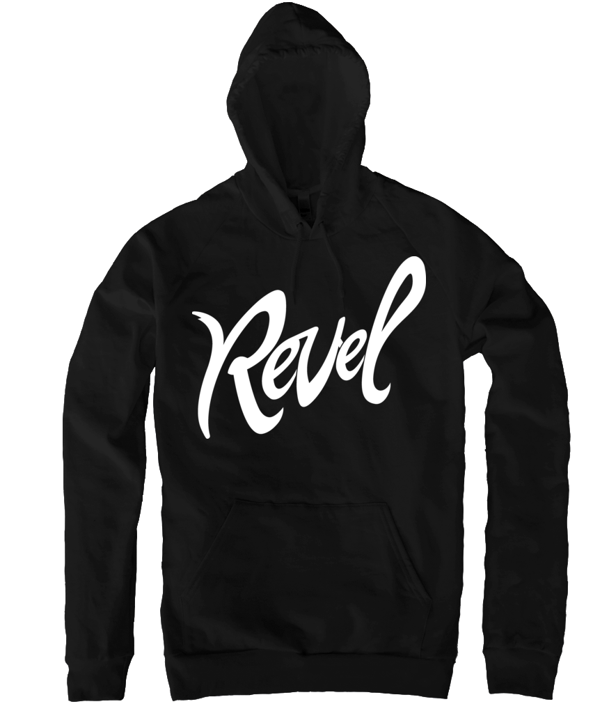 Revel Black Hoody