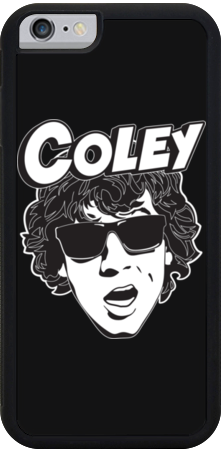 Coley Black iPhone Case