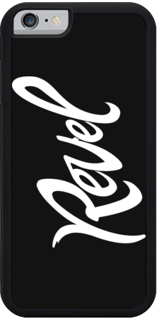 Revel Black iPhone Case