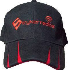 Stryker black/red premium embroidered hats