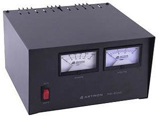 Astron RS-20M Power Supply with meters