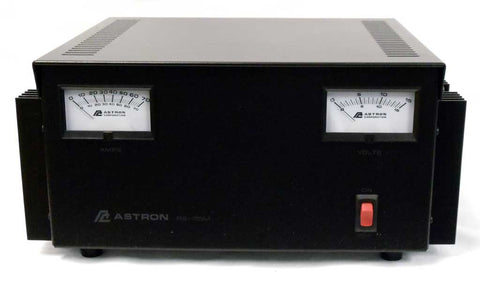 Astron RS-70M Power Supply with meters