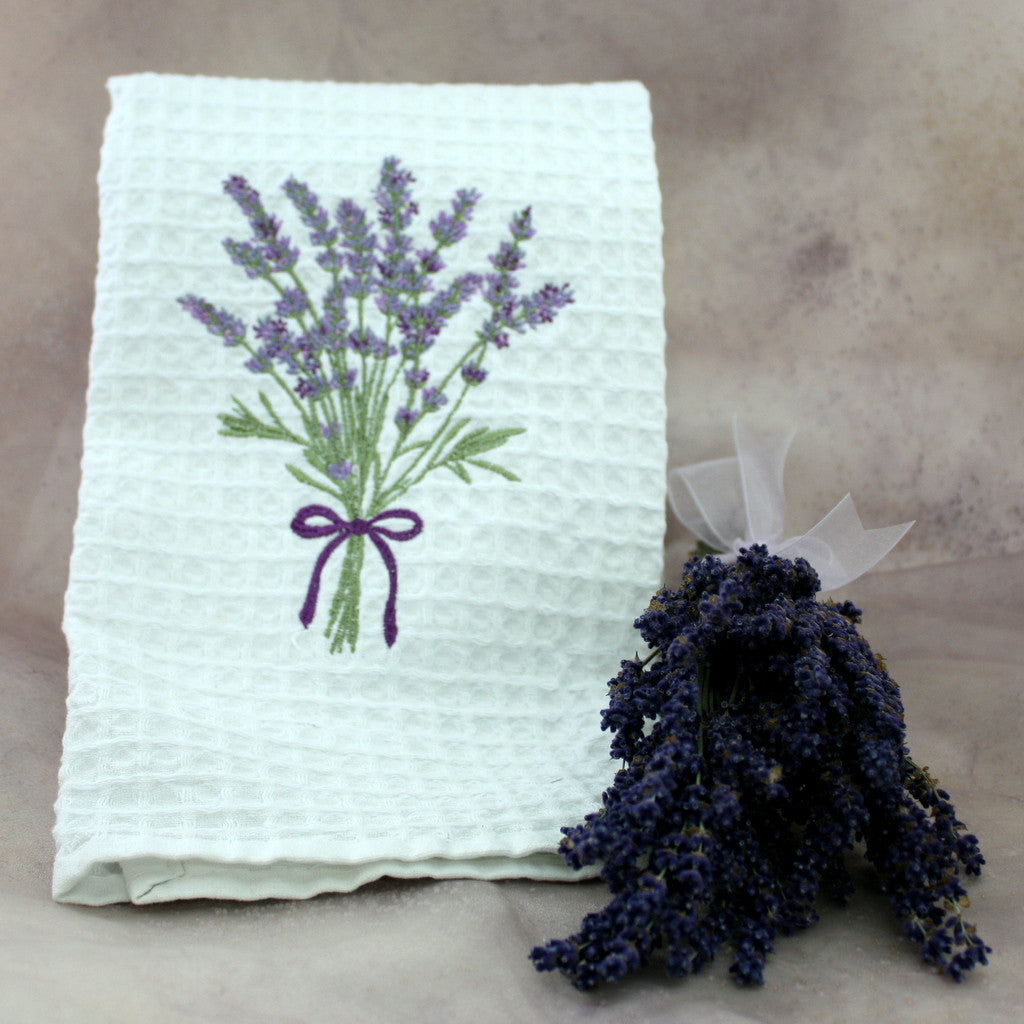 Cotton Waffle Weave Kitchen Towel