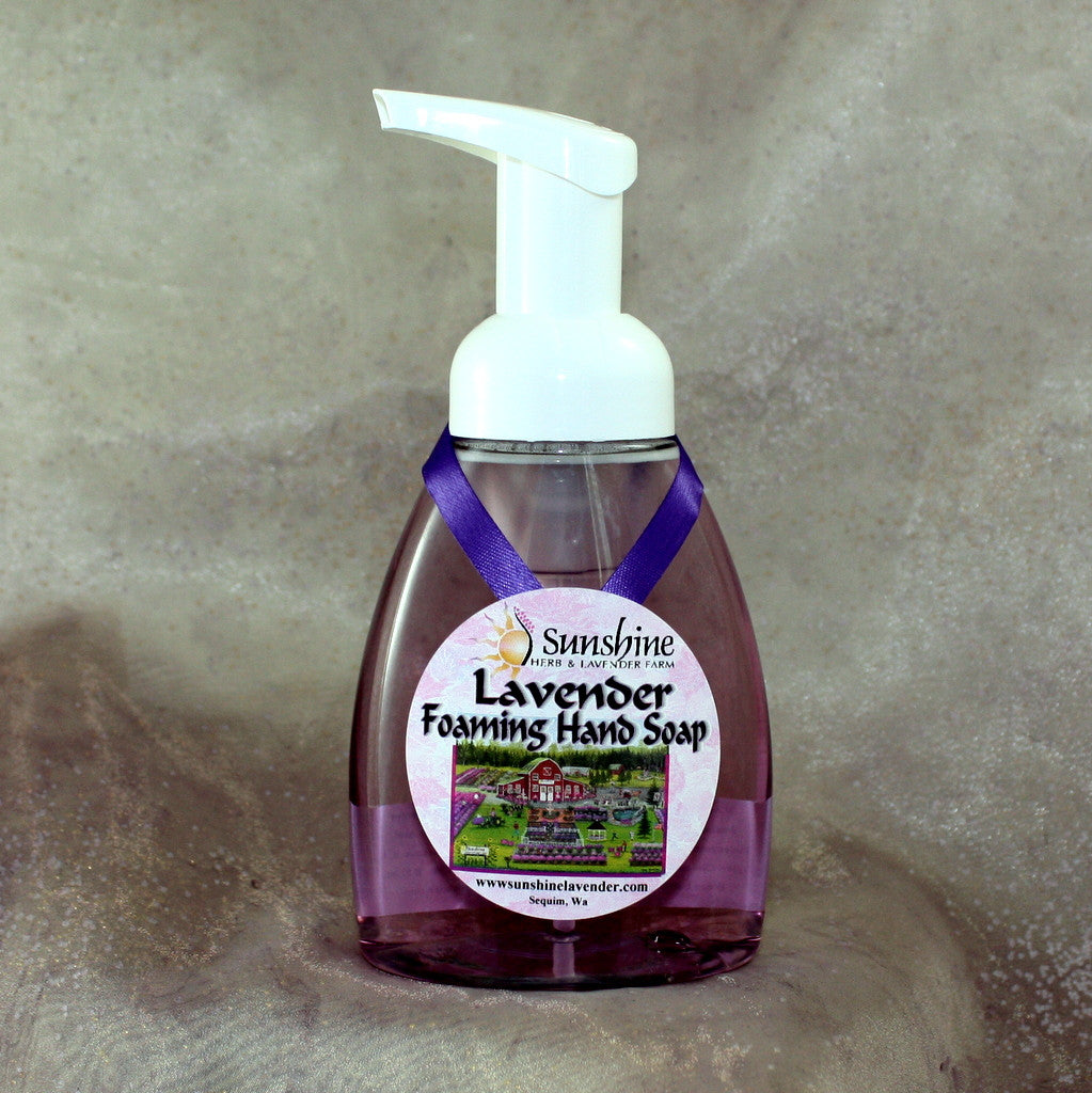 Lavender Sanitizing Foaming Hand Soap