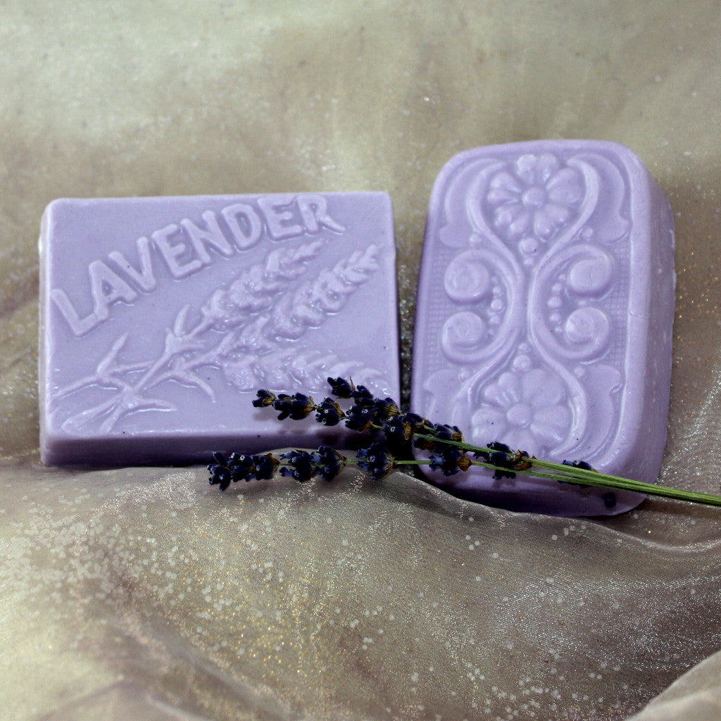 Lavender Glycerin Cold Cream Body Soap