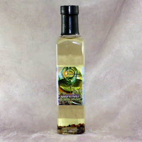 Lavender & Herb Infused Olive Oil