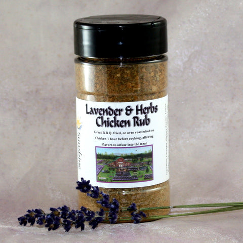 Lavender & Herbs Chicken Rub