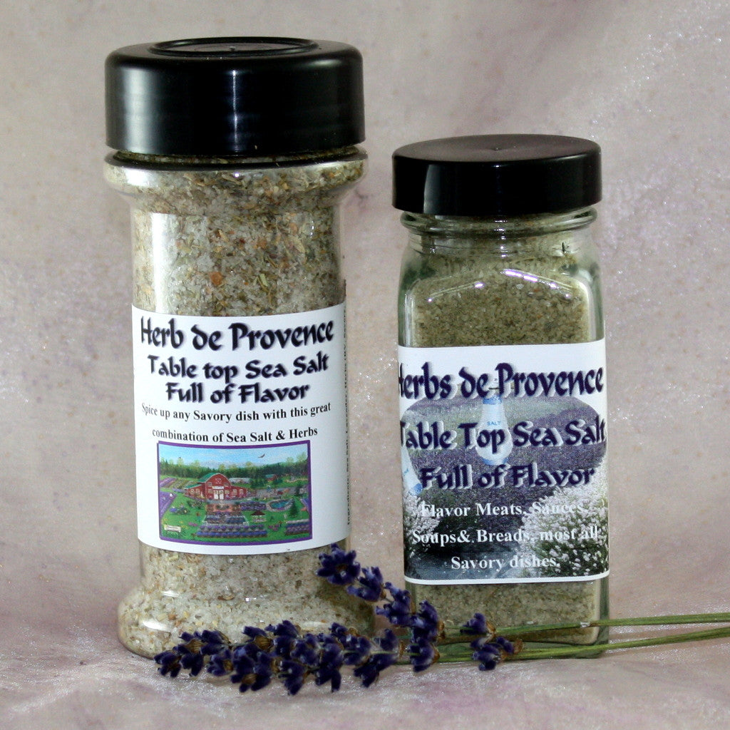 Herbs de Provence Sea Salt