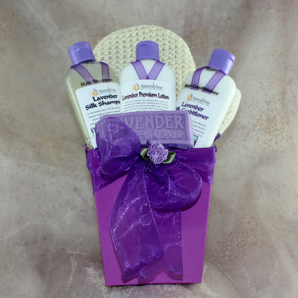 Lavender Silk Shampoo & Conditioner Gift Pack