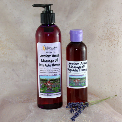 Lavender Arnica Massage Oil