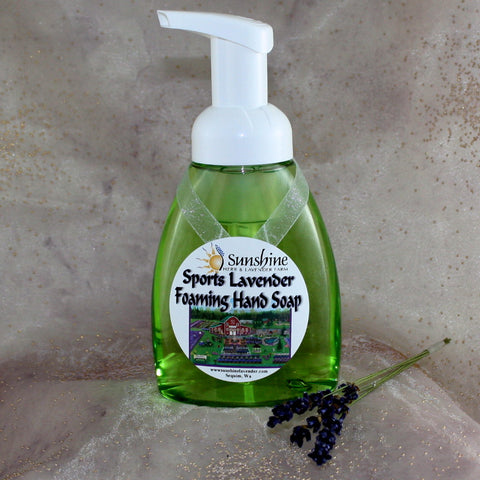 Sports Lavender Foaming Hand Soap