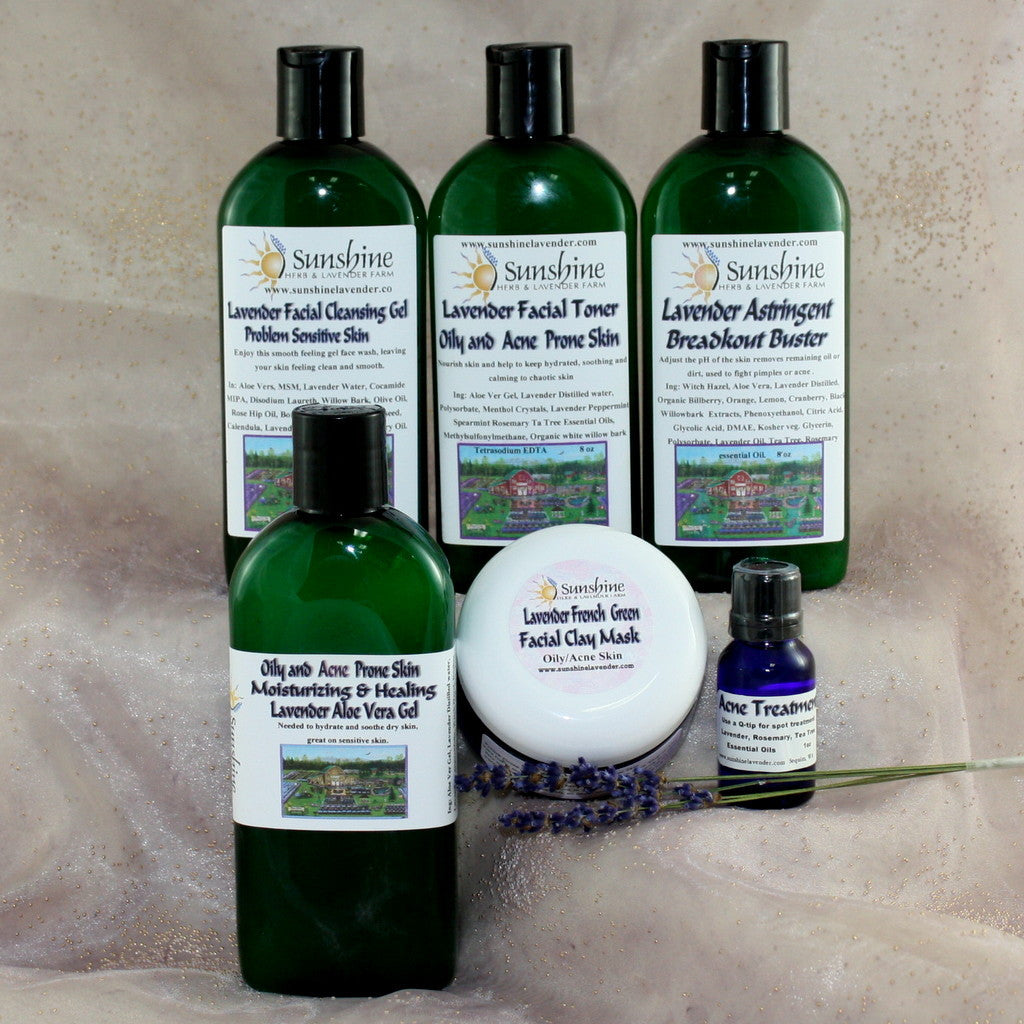 Lavender Acne Control Kit